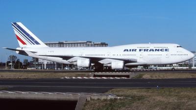 F-GITA - Boeing 747-428 - Air France