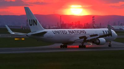 ET-ALJ - Boeing 767-360(ER) - United Nations (Ethiopian Airlines)