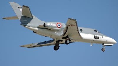 185 - Dassault Falcon 10MER - France - Air Force