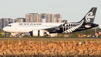 ZK-NHD - Airbus A320-271N - Air New Zealand