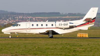 A picture of CSDXF - Cessna 560XLS Citation Excel - NetJets - © Arne P.