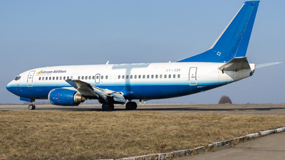 EY-539 - Boeing 737-3B7 - Eritrean Airlines
