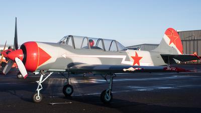ZK-XXS - Yakovlev Yak-52 - Private