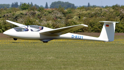 D-8321 - Schleicher ASK-21 - Private