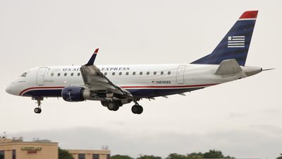 N816MA - Embraer 170-100SU - US Airways Express (Republic Airlines)
