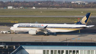 9V-SMQ - Airbus A350-941 - Singapore Airlines - Flightradar24