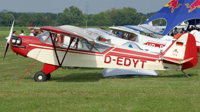D-EDYT - Piper J-3C-65 Cub - Private