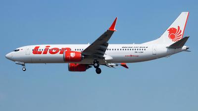 PK-LQH - Boeing 737-8 MAX - Lion Air