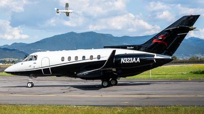 N323AA - British Aerospace BAe 125-800A - Private