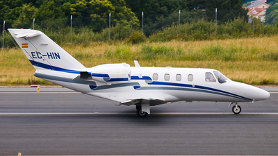 EC-HIN - Cessna 525 CitationJet 1 - Gestair Private Jets