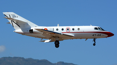 A picture of TM.112 - Dassault Falcon 20D -  - © Alejandro Hern�ndez Le�n