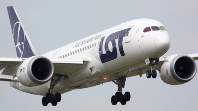 SP-LRB - Boeing 787-8 Dreamliner - LOT Polish Airlines