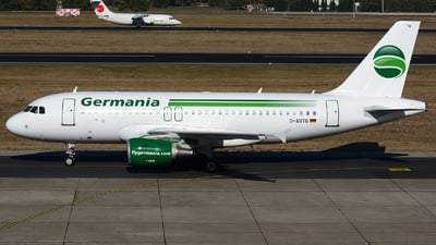 D-ASTQ - Airbus A319-111 - Germania