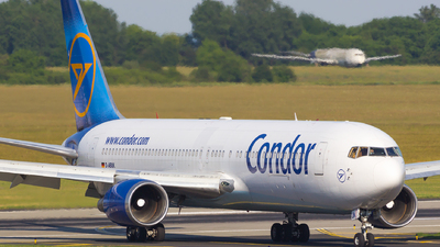 A picture of DABUK - Boeing 767343(ER) - Condor - © Gergely Molnár
