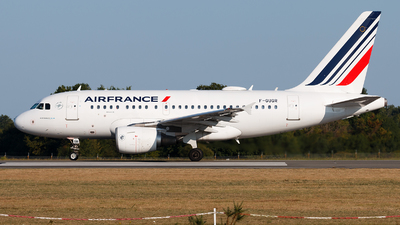 A picture of FGUGR - Airbus A318111 - Air France - © Alexis Boidron