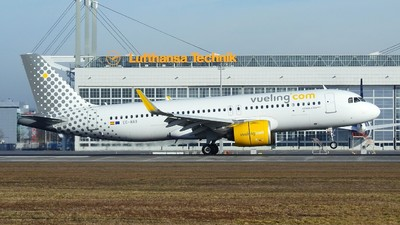 EC-NAX - Airbus A320-271N - Vueling Airlines