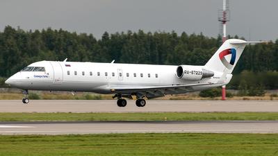 A picture of RA67229 - Mitsubishi CRJ200LR - Severstal Aircompany - © Ilia Martemianov
