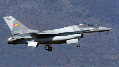 1613 - General Dynamics F-16AM Fighting Falcon - Romania - Air Force