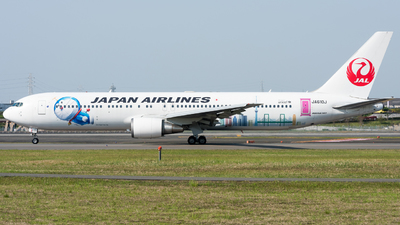 JA610J - Boeing 767-346(ER) - Japan Airlines (JAL)