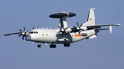 81610 - Shaanxi Y-9/KJ500 - China - Navy