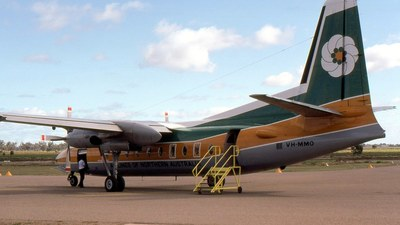 VH-MMO - Fokker F27-200 Friendship - Airlines of Northern Australia