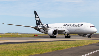ZK-NZG - Boeing 787-9 Dreamliner - Air New Zealand