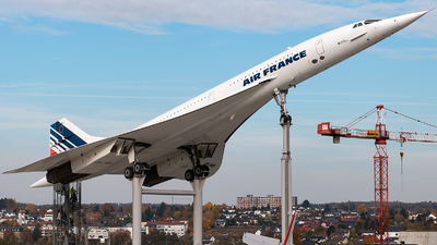 F-BVFB - Aérospatiale/British Aircraft Corporation Concorde - Air France