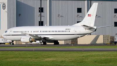 N639CS - Boeing 737-4Y0 - United States - Marshals Service