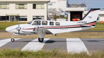 A picture of JA58GB - Beech G58 Baron - [TH2247] - © Tsumugu Ono