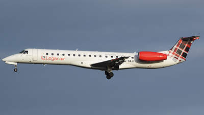 A picture of GSAJI - Embraer ERJ145EP - Loganair - © John Fitzpatrick