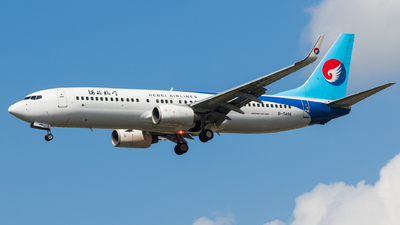 A picture of B5456 - Boeing 73785C - Hebei Airlines - © Aircraft carrier FX
