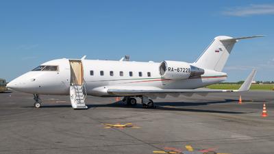 RA-67228 - Bombardier CL-600-2B16 Challenger 604 - Ak Bars Aero