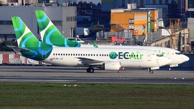 HB-JJC - Boeing 737-306 - ECAir - Equatorial Congo Airlines (PrivatAir)