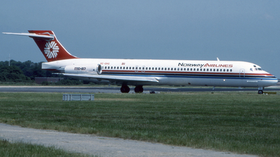 SE-DHG - McDonnell Douglas MD-87 - Norway Airlines