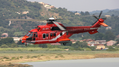 SX-HFF - Aérospatiale AS 332L Super Puma - Greece - Fire Fighting Service