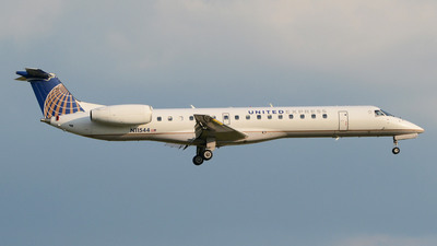 A picture of N11544 - Embraer ERJ145LR - [145557] - © DJ Reed - OPShots Photo Team
