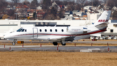 N916DK - Cessna 560XL Citation XLS Plus - Private