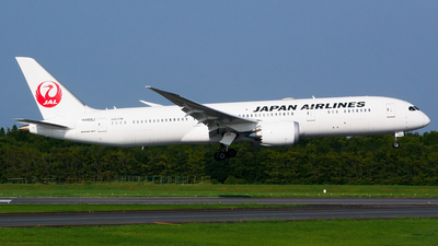 JA869J - Boeing 787-9 Dreamliner - Japan Airlines (JAL)