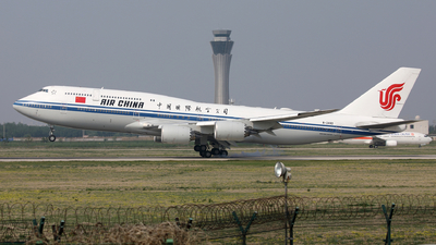 A picture of B2482 - Boeing 74789L - Air China - © Liu Yonggang