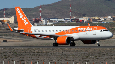 A picture of GUZHZ - Airbus A320251N - easyJet - © Alfonso Solis