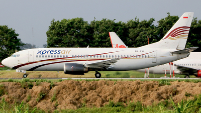 PK-TXI - Boeing 737-322 - XPress Air