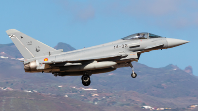 C.16-74 - Eurofighter Typhoon EF2000 - Spain - Air Force