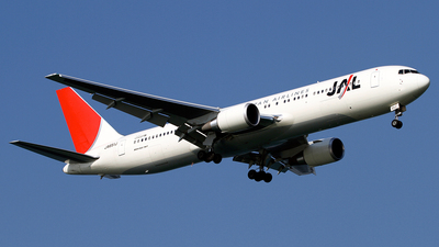 JA651J - Boeing 767-346(ER) - Japan Airlines (JAL)