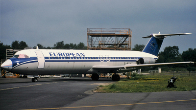 G-AVMX - British Aircraft Corporation BAC 1-11 Series 510ED - European Aviation (EAL)