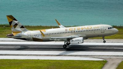 A6-EJA - Airbus A320-232 - Etihad Airways