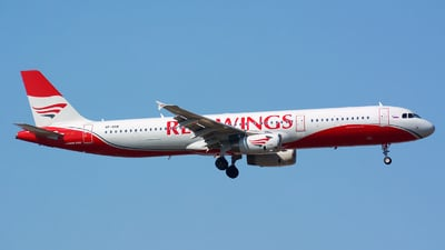 VP-BRB - Airbus A321-231 - Red Wings