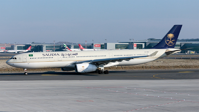 A picture of HZAQ15 - Airbus A330343 - Saudia - © Ömür Sadikoglu