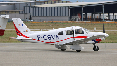 F-GSVA - Piper PA-28-181 Archer II - Aerospeed Flight School