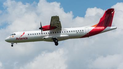 HK-5323 - ATR 72-212A(600) - Avianca