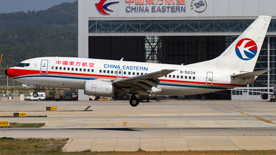 B-5034 - Boeing 737-79P - China Eastern Airlines